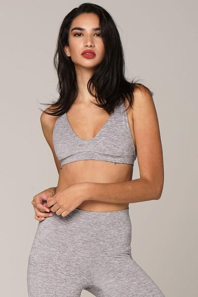 The Conscious Bra - Silver Heather