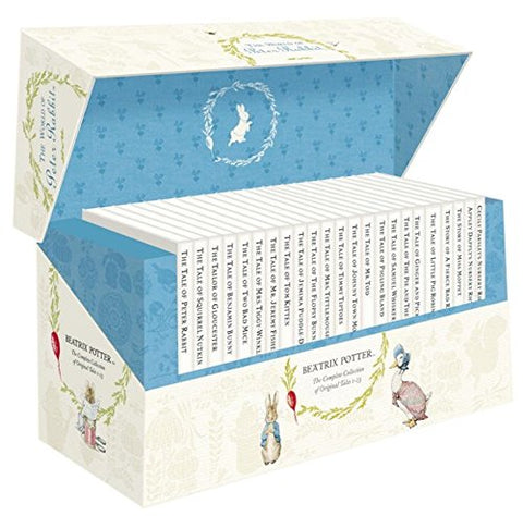 The World Of Peter Rabbit 23 Vol Box Set White Jacket: The Complete Collection Of Original Tales 1-23