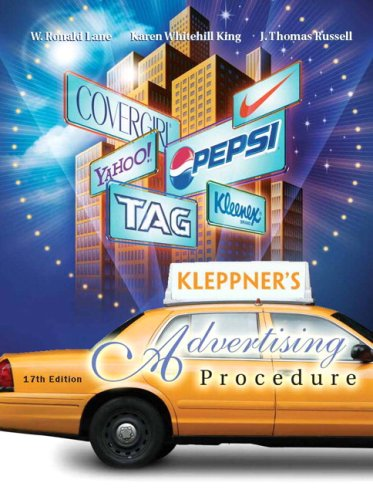 Kleppner'S Advertising Procedure (17Th Edition)