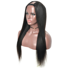 Load image into Gallery viewer, Yaki Straight U Part Wig