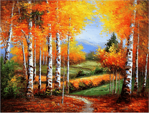 Diamond Painting Colorful Autumn Landscape