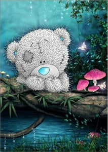 Cute Teddy Bear Full Drill Diamond Painting Alisa Diamond Paintings