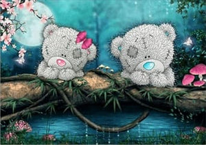 Happy Tedddy Bear Toys Diamond Painting Alisa Diamond Paintings