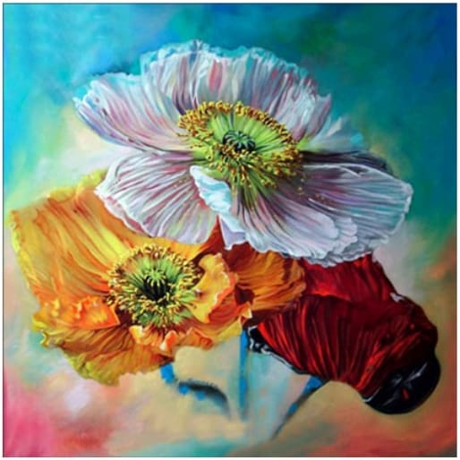 Colorful Flowers 5D Diamond Painting Alisa Diamond Paintings