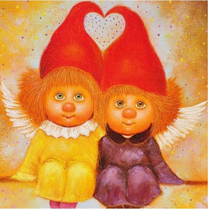 Dwarf Couple Full Drill Square Kids Diamond Painting Alisa Diamond Paintings