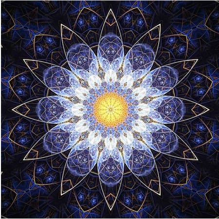 Mandala 2 Full Square Drill 5D Diamond Painting Alisa Diamond Paintings