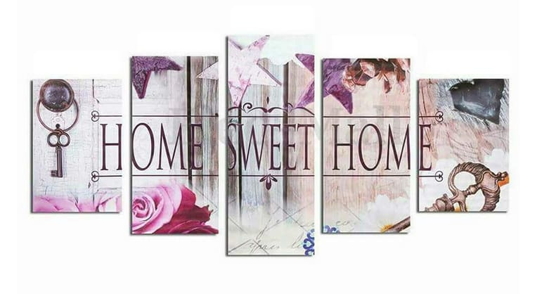 5D Diamond Painting Kit Full Square Drill Home Sweet Home 2 Alisa Diamond Paintings