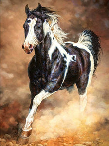 5D Diamond Painting Cross Stitch Running Horse Alisa Diamond Paintings