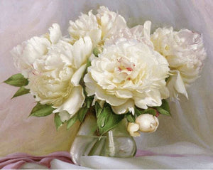 5d Diamond Painting Kit Vintage Peony ALISA Diamond Paintings