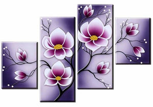 Abstract Flowers Multi-Picture Combination Full Drill Square Diamond Painting ALISA Diamond Paintings