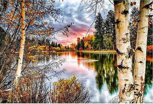 Autumn Landscape Full Drill Diamond Painting ALISA Diamond Paintings