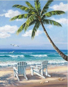 Beach Scene 2 Full Drill Diamond Painting ALISA Diamond Paintings