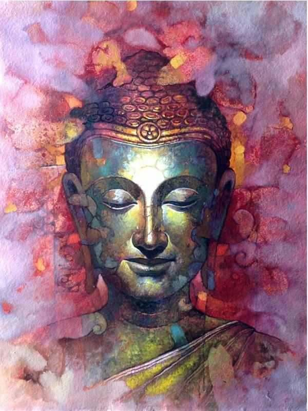 Buddha Full Coverage Diamond Embroidery Kit ALISA Diamond Paintings