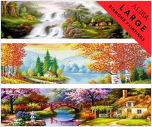 Extra Large Diamond Painting Embroidery Kits Landscape Alisa Diamond Paintings