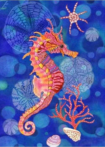 Diamond Painting Kit Seahorse Animals Alisa Paintings Sale Free Shipping