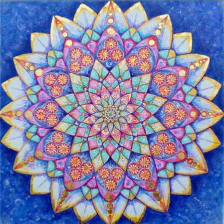 Mandala 4 Full Square Drill 5D Diamond Painting Kits Abstract Alisa Paintings