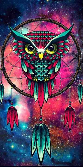 Owl Dreamcatcher Full Drill Diamond Embroidery Painting Kits Animals Paint With Diamonds Art Club Alisa Paintings