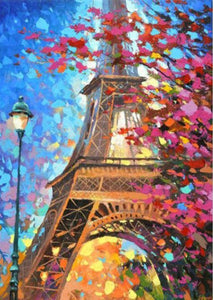 Eiffel Tower Full Coverage Diamond Art Painting Kits ALISA Diamond Paintings