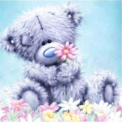 Teddy Bear Kids 5d Diamond Painting Kit ALISA Diamond Paintings