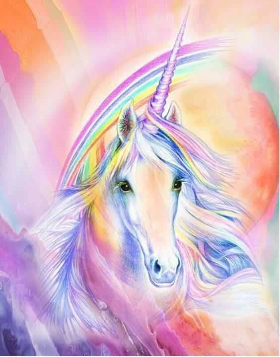 Unicorn Full Diamond Embroidery Kit ALISA Diamond Paintings