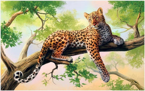 5D Diamond Painting Full Drill Leopard Alisa Diamond Paintings