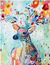 Colorful Deer Small Diamond Painting Kit Alisa Diamond Paintings