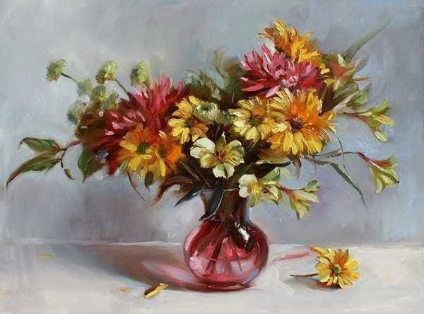 Diamond Painting Oil Paint Flower Alisa Diamond Paintings