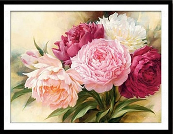 Peony - Full Drill Diamond Painting Kit Alisa Diamond Paintings