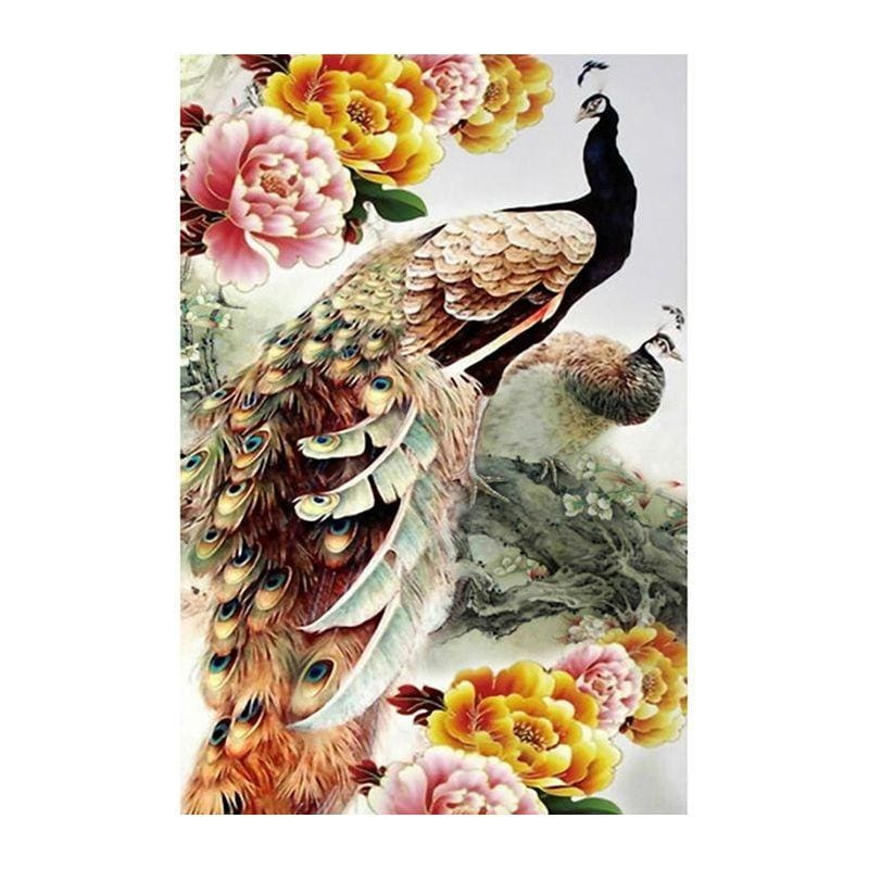 Peacock -Diamond Painting Kit Alisa Diamond Paintings