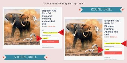 Where To Buy Diamond Painting Embroidery Kits What Is Full Square And Round Drill How To Paint With Diamonds