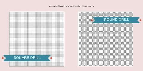 What Is The Difference Between Square And Round Drill 5d Diamond Painting Kits