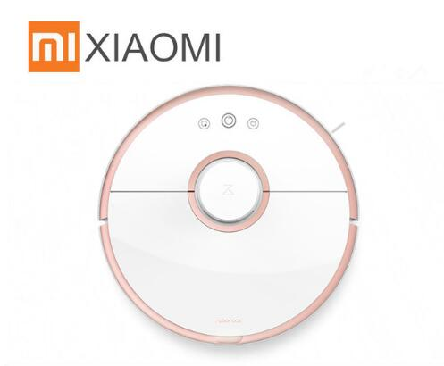 Xiaomi MI Roborock S50 S51 S55 Robot Vacuum Cleaner 2 for Home Automatic  Sweeping Dust Sterilize Smart Planned Washing Mopping
