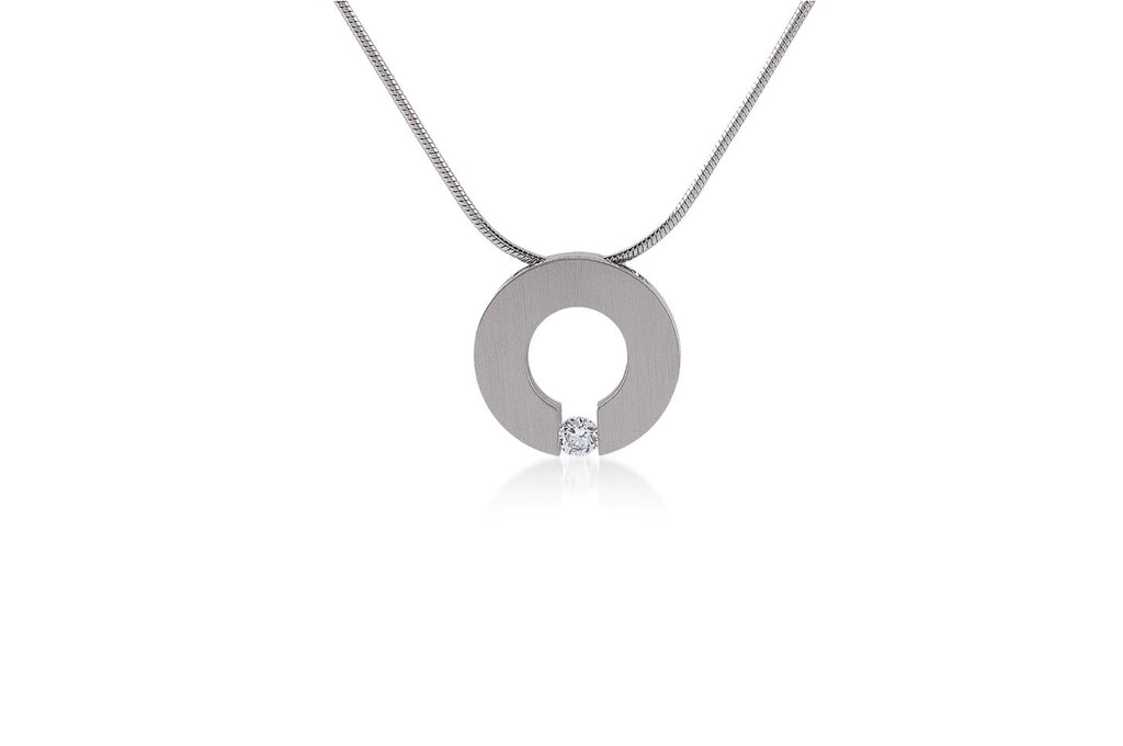 Malfinia Coil Stainless Steel Necklace