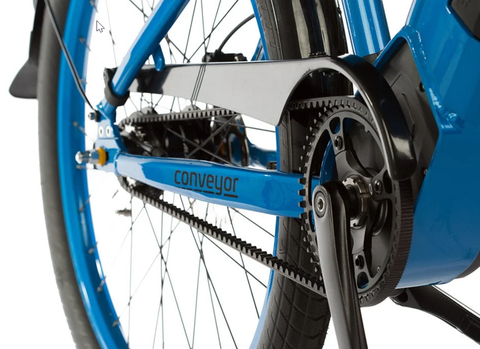 carbon belt drive gives you a whisper-quiet ride