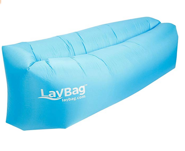 Blue LayBag Inflatable Air Lounger