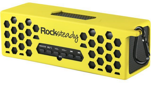 Rocksteady WG-XS3100-YB Yellow with Black highlights Rocksteady 2.0 Wireless Speaker