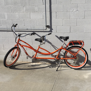 "26"" Tandem with a 48/15 battery - Orange"