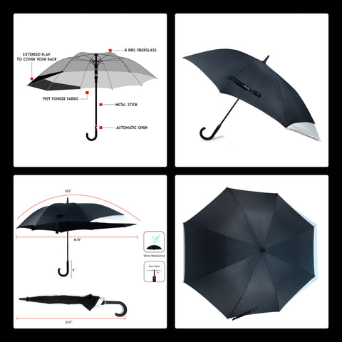 Backpack Protecting Umbrella - UM5031