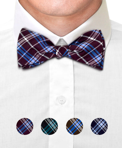 Silk Woven Freestyle Bow Tie FBS4705