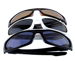 Feel great in these Mens fully rimmed Uv400 protected classic bar square wrap style plastic sunglasses