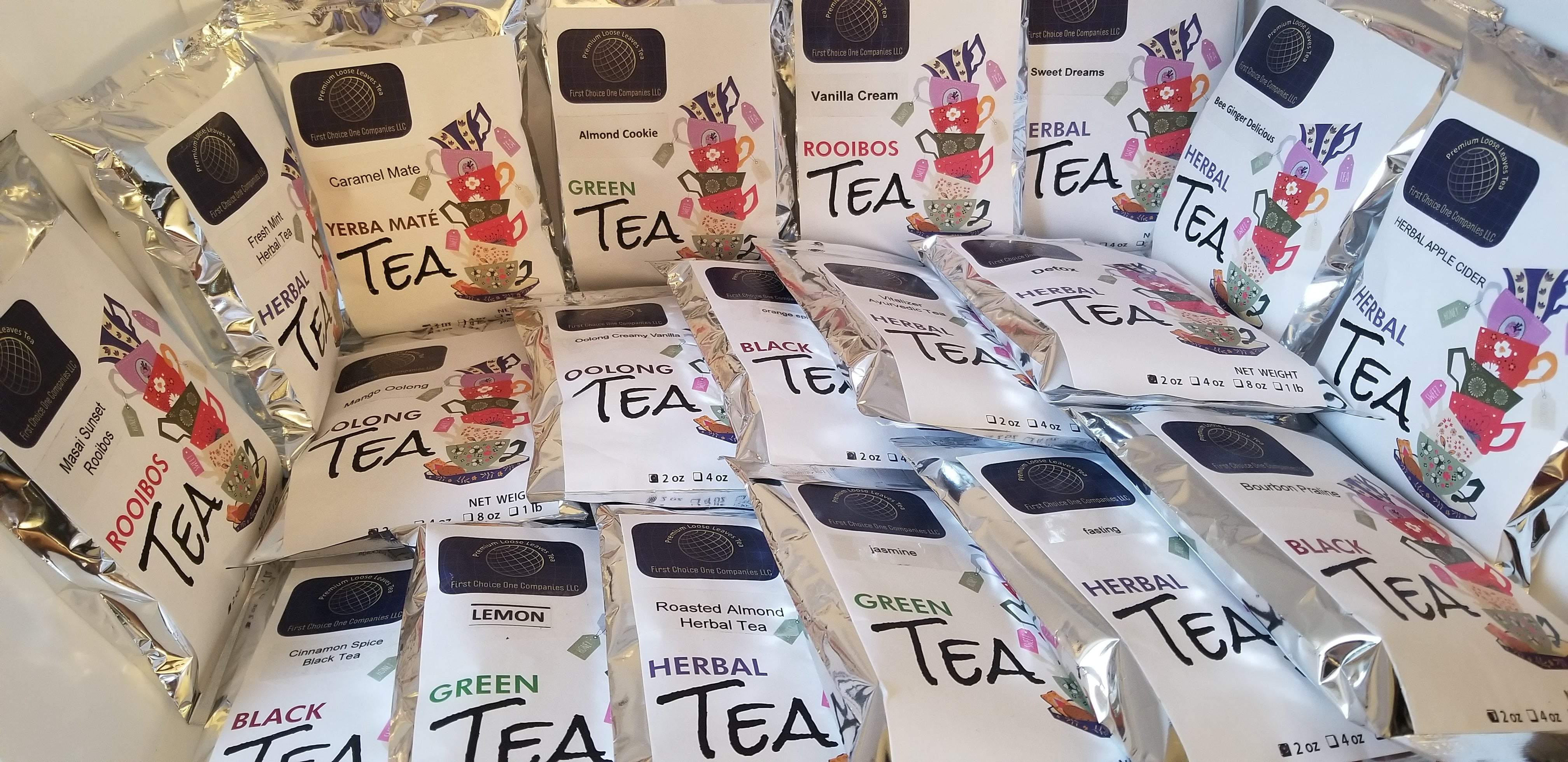 Premium Loose Leaves Teas By First Choice One  (Rooibos Tea)
