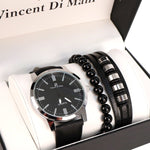 Men's Watch & Bracelet Gift Set