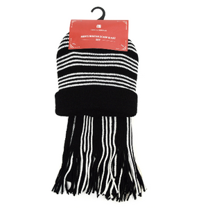 Men's Winter Scarves & Hats