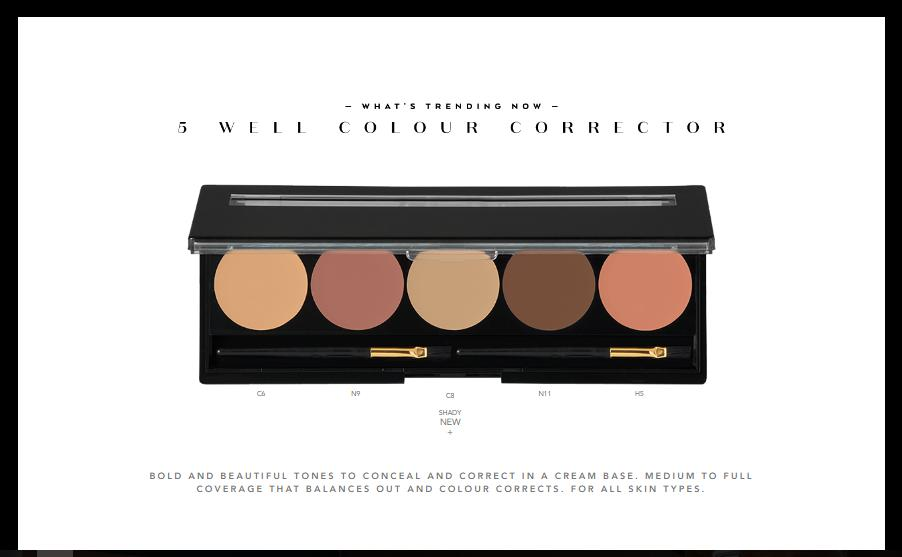 TRX-E Cosmetics 5 & 6 Well Color Corrector (Refillable Palette)