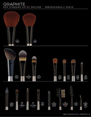TRX-E Cosmetics Brush Envy (Make Up Brushes)