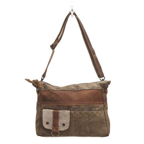 Sheer Perfection Canvas Shoulder Bag