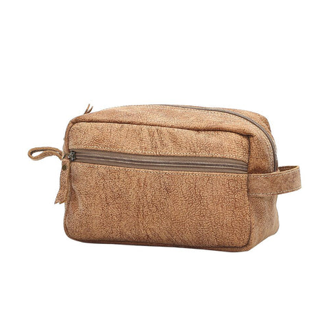 Leather Toiletry Bag or Shaving Kit