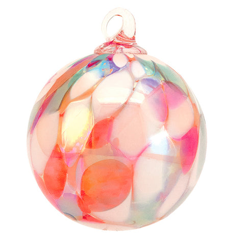 Hand Blown Ornament Coral Reef