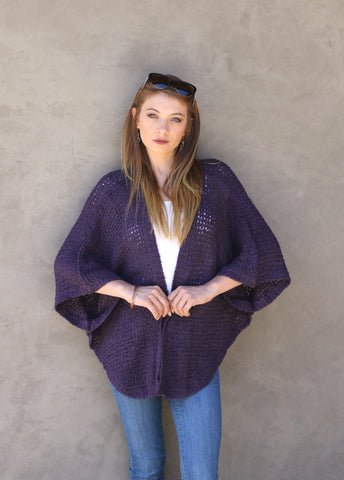 Bouclé Butterfly Sweater
