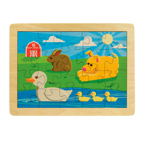 Duck Pond Puzzle - Made in the USA